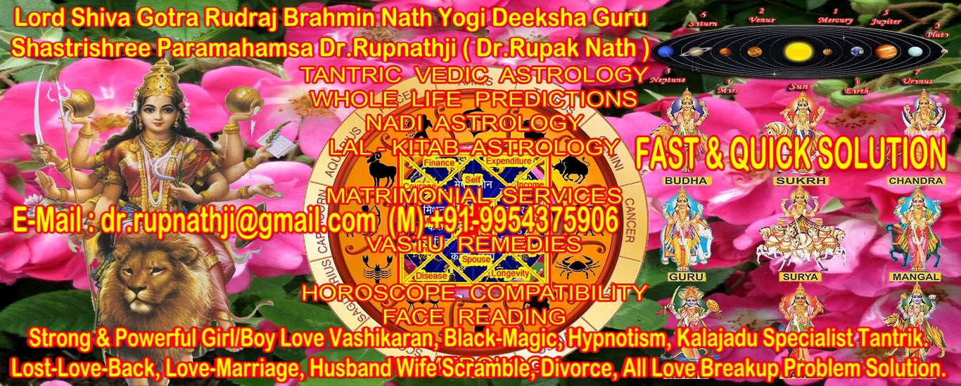 Vedic Astrologer Aghori Tantrik Black Magic Vashikaran Tantric Maha